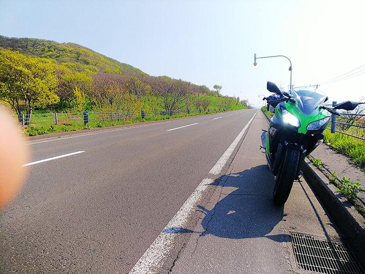 北海道直線道路 沿岸部