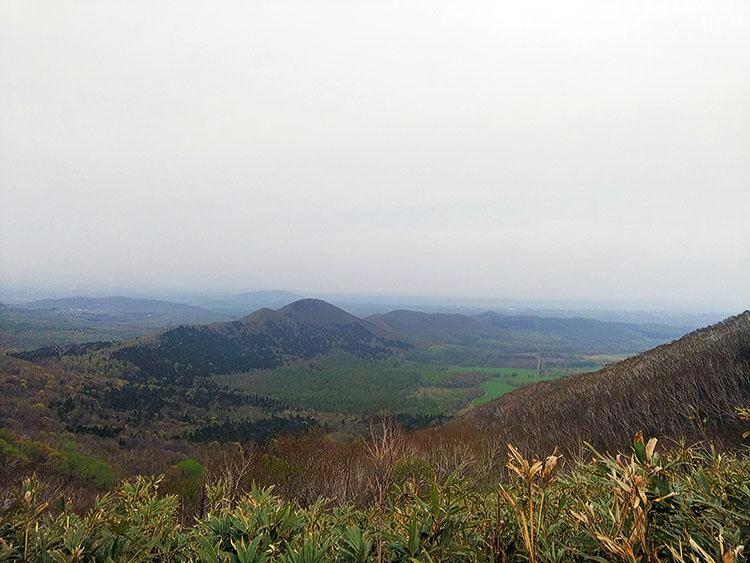 勝狩峠からの眺め