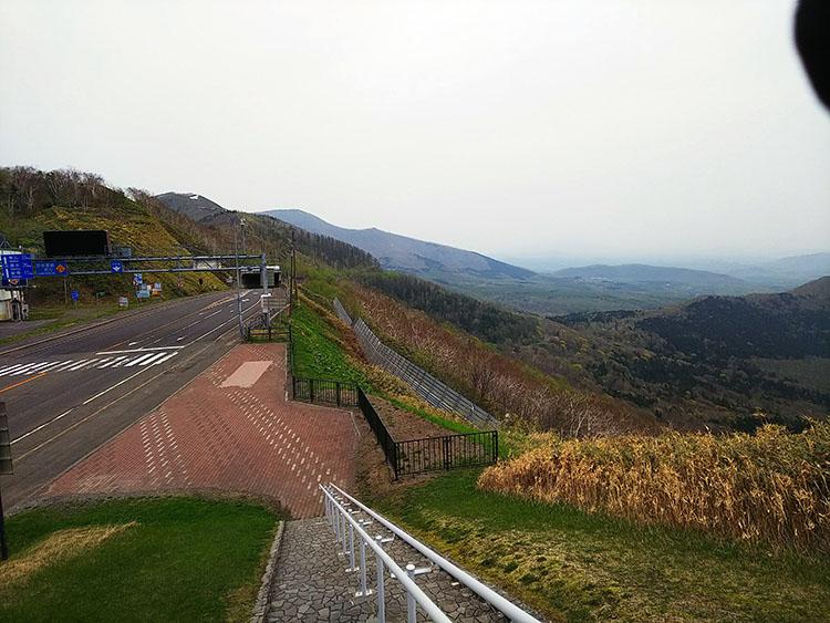 勝狩峠展望台からの眺め