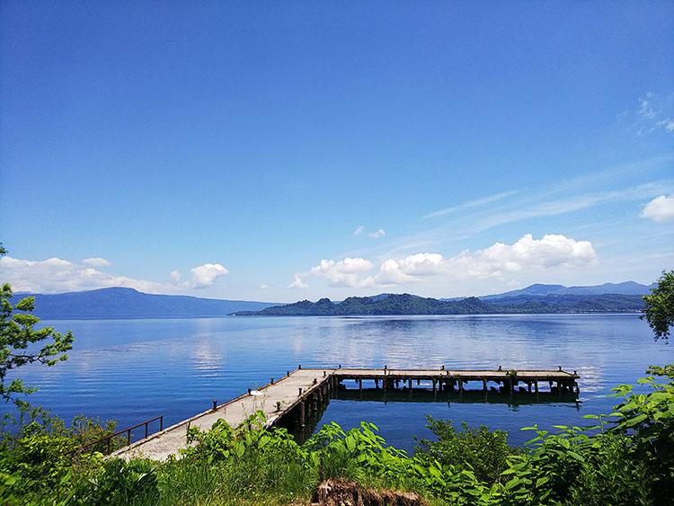 十和田湖 桟橋