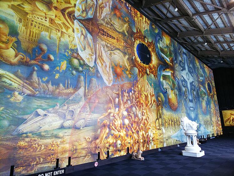 世界最大の絵画 全体