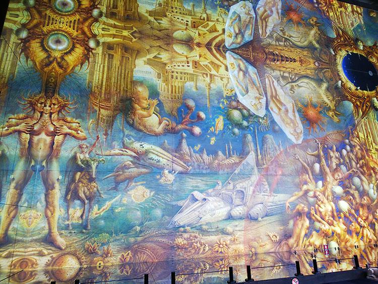 世界最大の絵画 景色部分